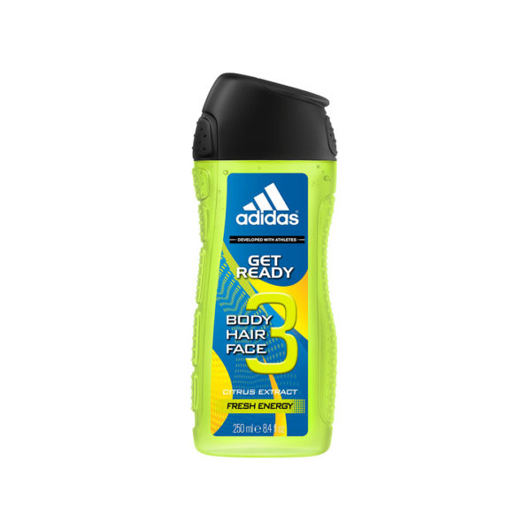 Adidas tusfürdő 250 ml - Get Ready