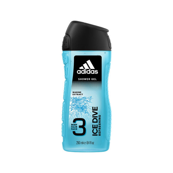 Adidas tusfürdő 250 ml - Ice Dive