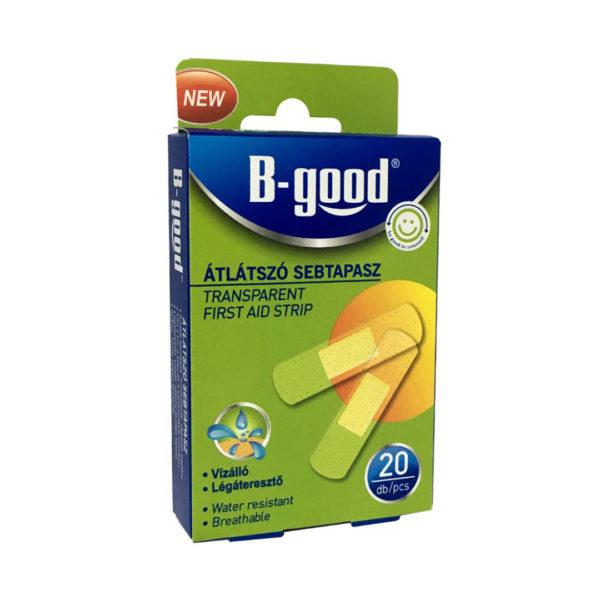 B-good sebtapasz 20 db/csomag - Átlátszó
