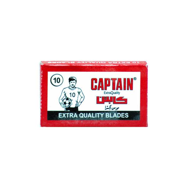 CAPTAIN borotvapenge 10 db/csomag - Extra Quality