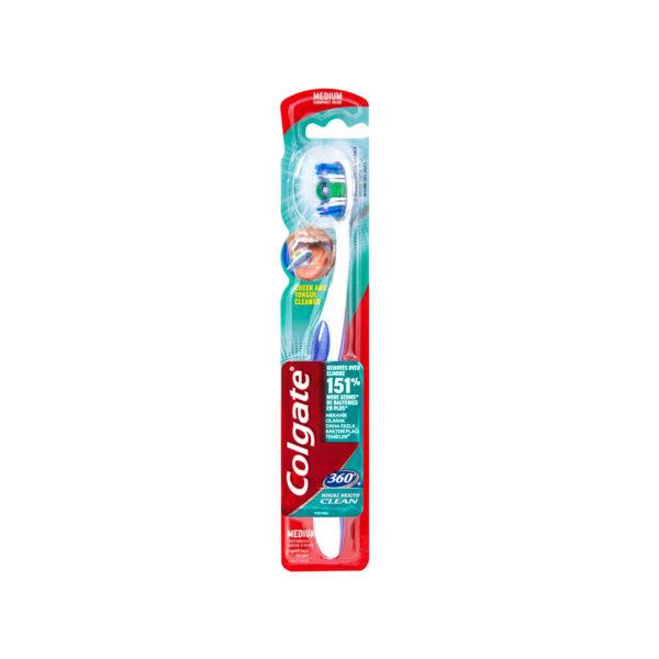 Colgate fogkefe 1 db - 360° Medium lila