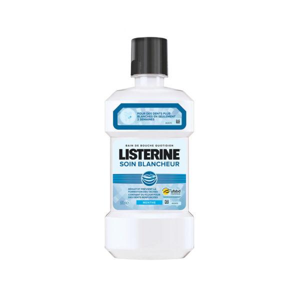 Listerine szájvíz 500 ml - Soin Blancheur