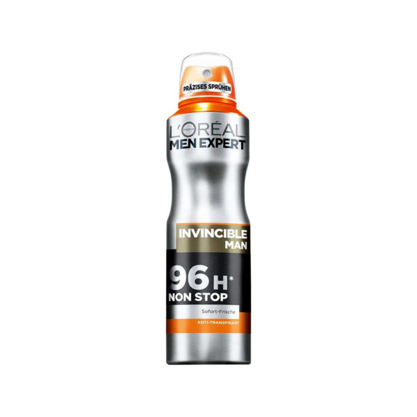 L'oréal Men Expert dezodor spray 150 ml - Invincible 96h