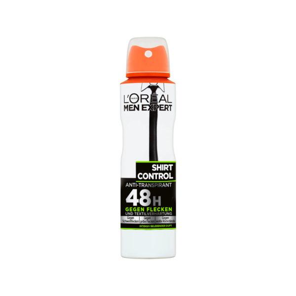 L'oréal Men Expert dezodor spray 150 ml - Shirt Control 48h