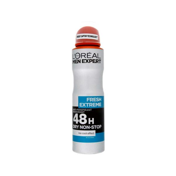 L'oréal Men Expert dezodor spray 200 ml  - Fresh Extreme 48h