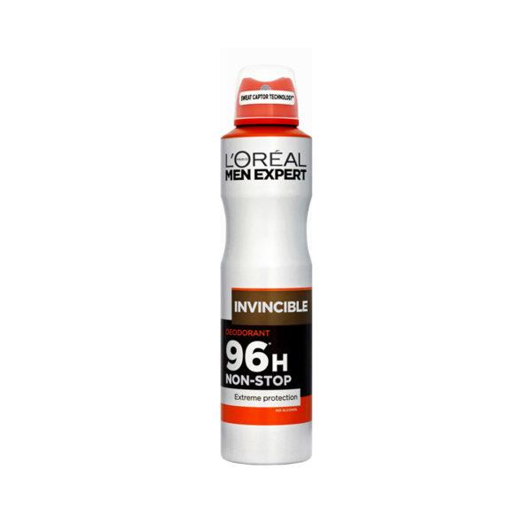 L'oréal Men Expert dezodor spray 200 ml  - Invincible 96h