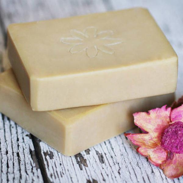 Napvirág natúr szappan 120 g - Shea vaj