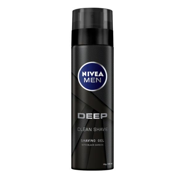 Nivea Men borotvagél 200 ml - Deep