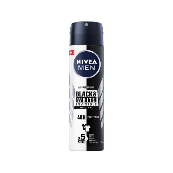 Nivea Men dezodor spray 150 ml - Black and White