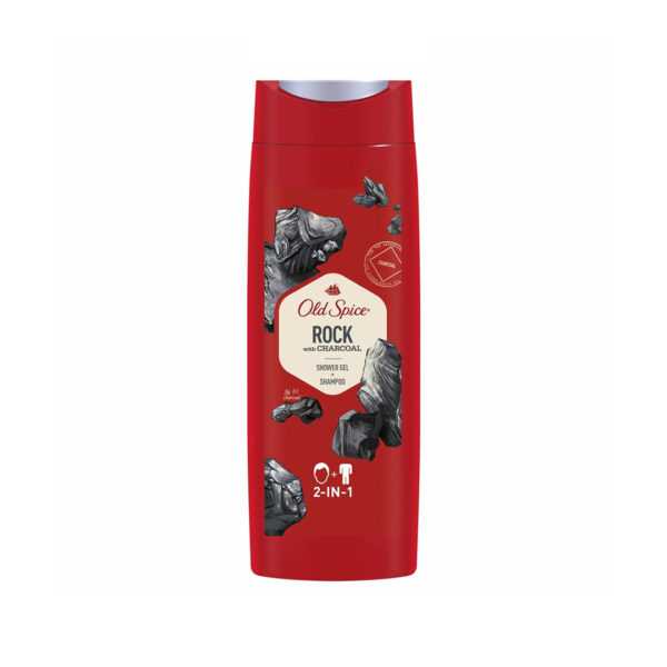 Old Spice tusfürdő 250 ml - Rock with Charcoal