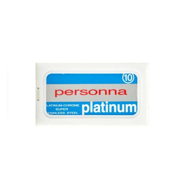 Personna borotvapenge 10 db - Platinum - duplaélű