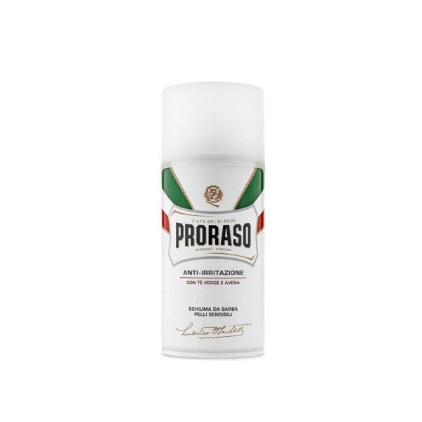 Proraso borotvahab 300 ml - zöld tea - érzékeny bőrre