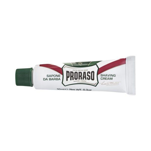 Proraso borotvakrém 10 ml - eukaliptusz és mentol (utazó)