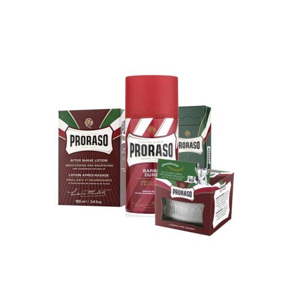 Proraso borotválkozás csomag száraz bőrre