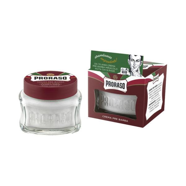 Proraso borotválkozás előtti krém 100 ml - szantálfa