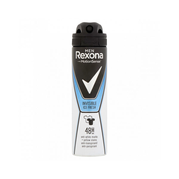 Rexona MEN dezodor spray 150 ml - Invisible Ice Fresh