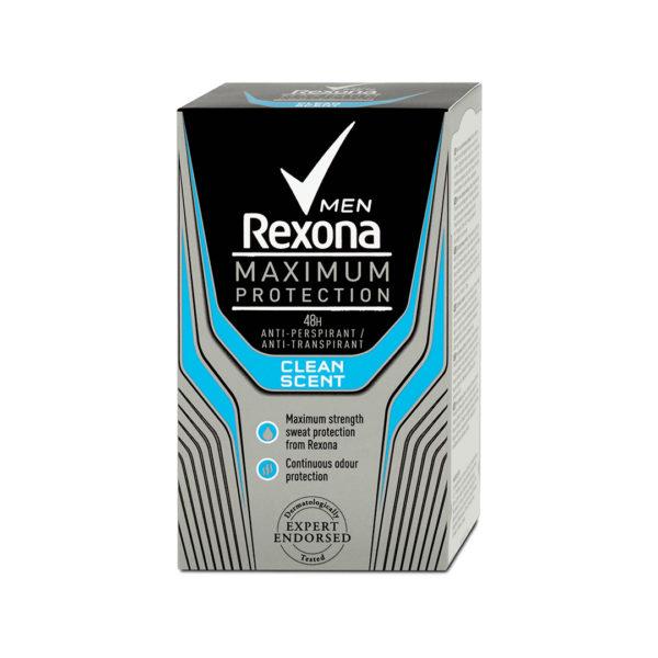 Rexona MEN stift 45 ml - Maximum Protection Clean Scent