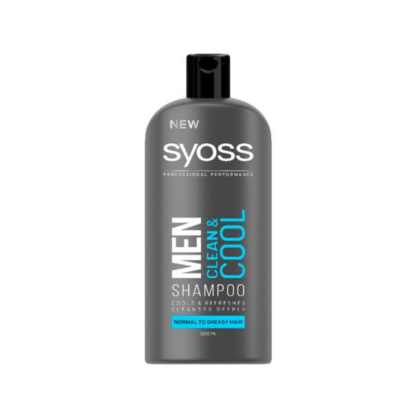 Syoss Men sampon 500 ml - Clean and Cool