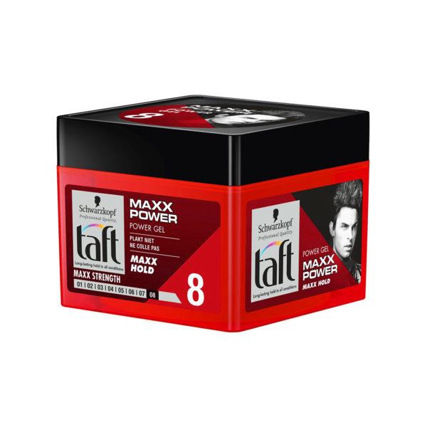 Taft hajformázó zselé 250 ml - Maxx Power 8