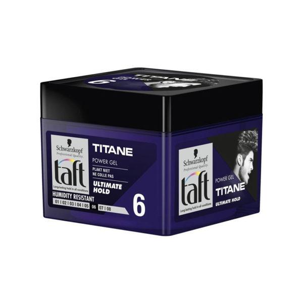 Taft hajformázó zselé 250 ml - Titane Ultimate Hold 6