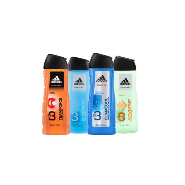 Adidas tusfürdő csomag 4x400 ml
