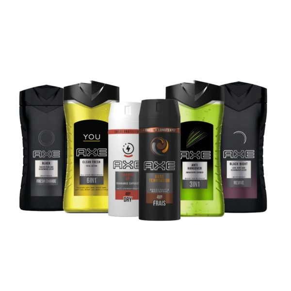 Axe 2+4 dezodor és tusfürdő csomag