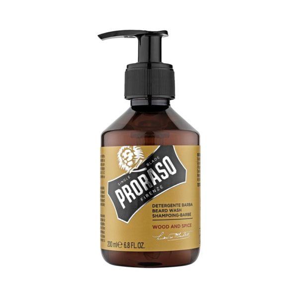 Proraso szakállsampon 200 ml - Wood and Spice