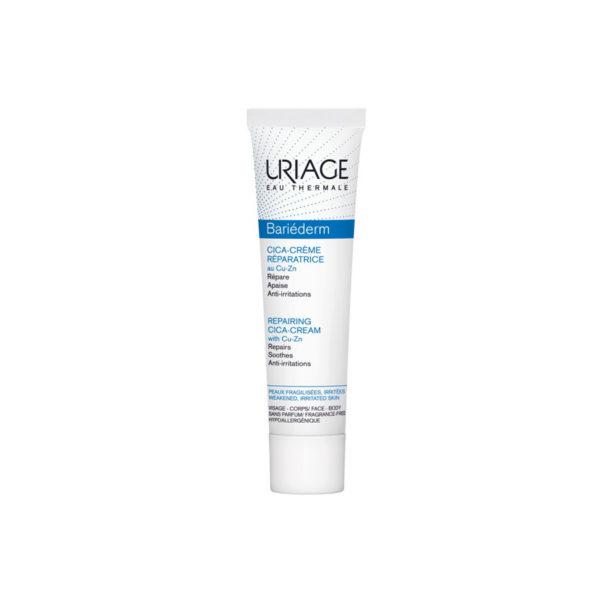 Uriage Bariéderm CICA CU-ZN sebkezelő és gyulladáscsökkentő krém - 40 ml
