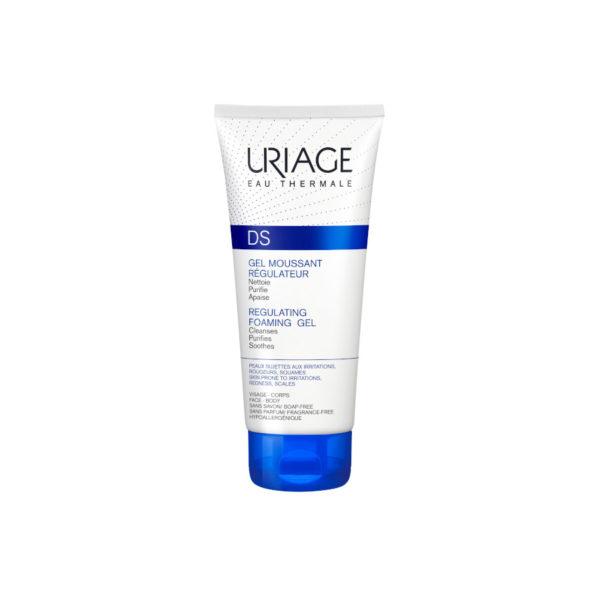 Uriage DS habzó mosakodógél/sampon seborrhoeás bőrre - 150 ml