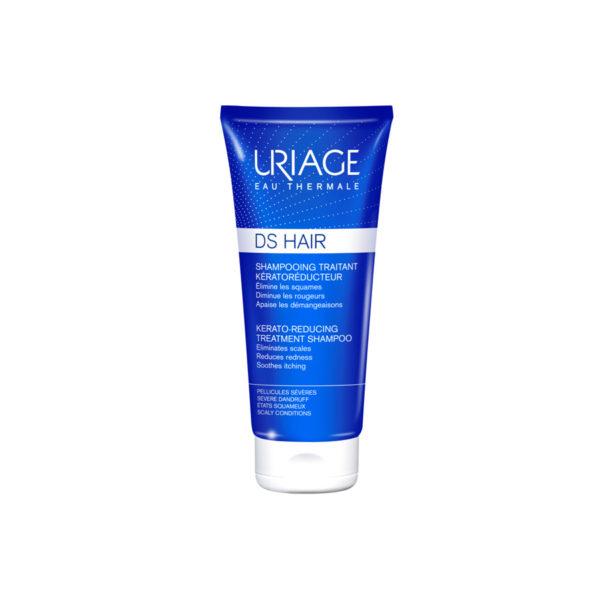 Uriage DS Hair intenzív sampon erősen korpás fejbőrre - 150 ml