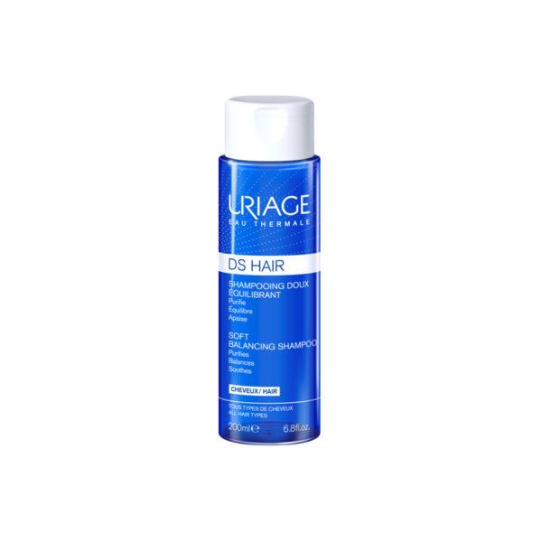 Uriage DS Hair kímélő sampon - 200 ml