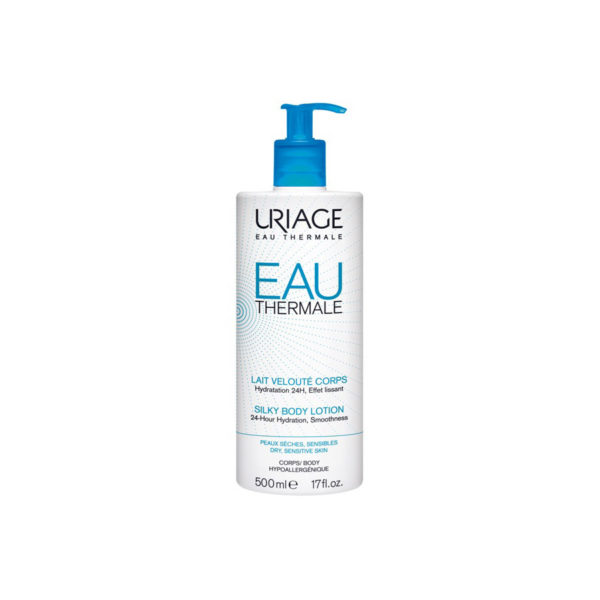 Uriage EAU Thermale Silky Body hyaluronsavas testápoló tej - 500 ml