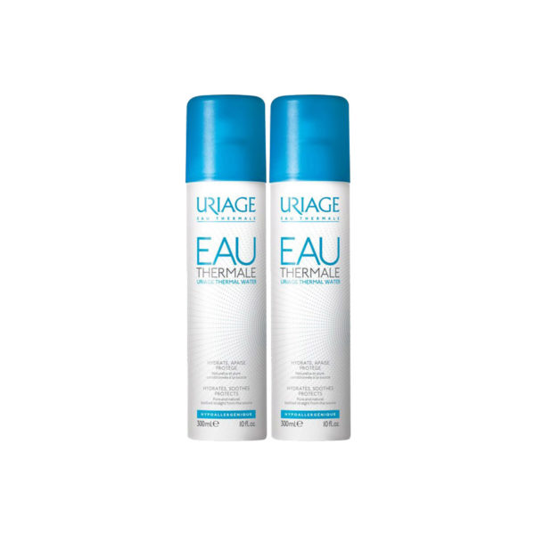 Uriage EAU Thermale termálvíz spray - 2x300 ml