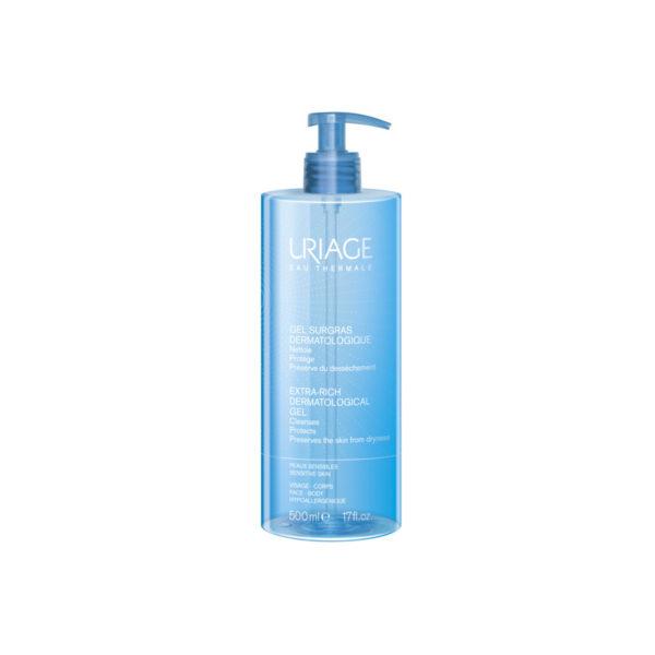Uriage Gel Surgras Dermatologique extra kímélő tusfürdő gél - 500 ml