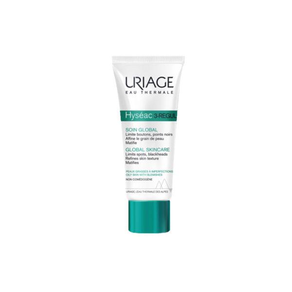 Uriage Hyséac 3-regul krém aknés és mitesszeres bőrre - 40 ml