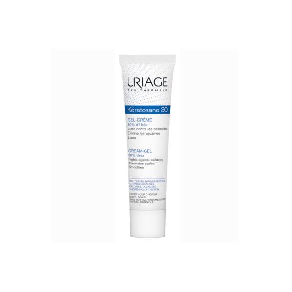 Uriage Kératosane 30 gél krém megvastagodott bőrre - 40 ml