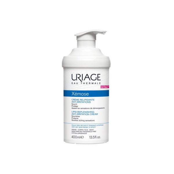 Uriage Xémose krém száraz/nagyon száraz bőrre - 400 ml