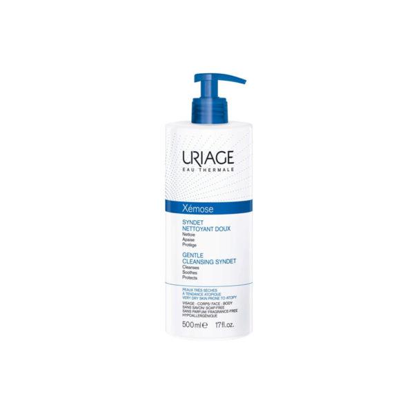 Uriage Xémose Syndet krém-tusfürdő száraz bőrre - 500 ml