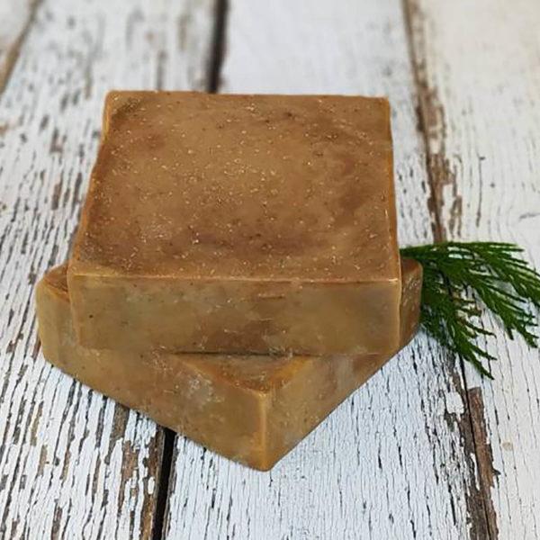 Napvirág natúr szappan 120 g - Kávé