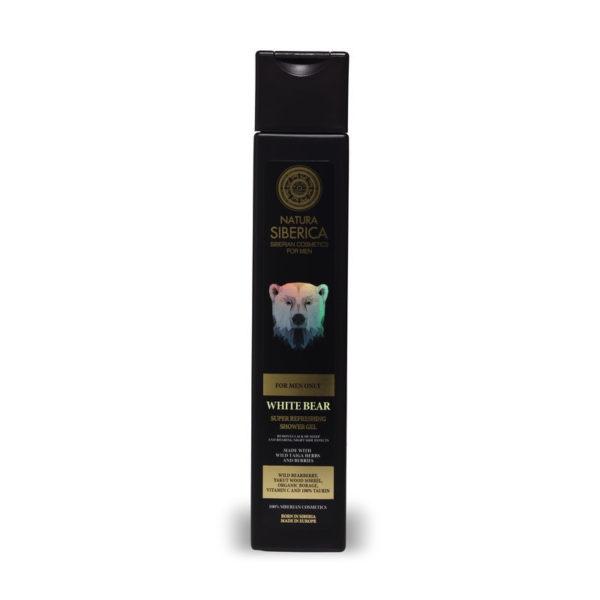Natura Siberica frissítő tusfürdő férfiaknak - 250 ml