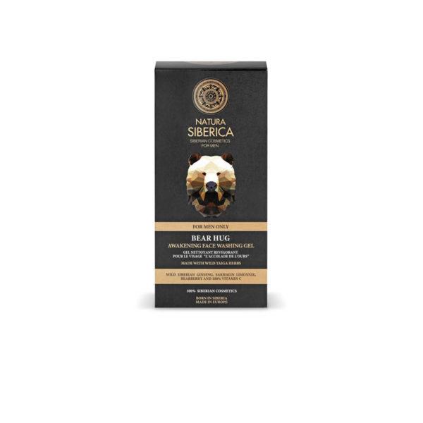 Natura Siberica frissítő arctisztító gél férfiaknak - 150 ml