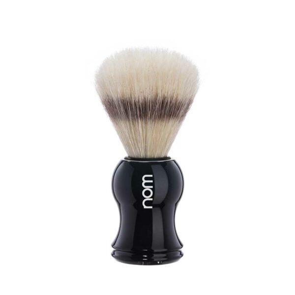nom - hjm GUSTAV vaddisznószőr borotvapamacs - fekete