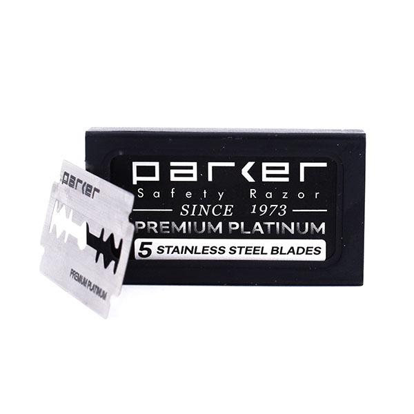 Parker Premium Platinum duplaélű borotvapenge - 5 db/csomag