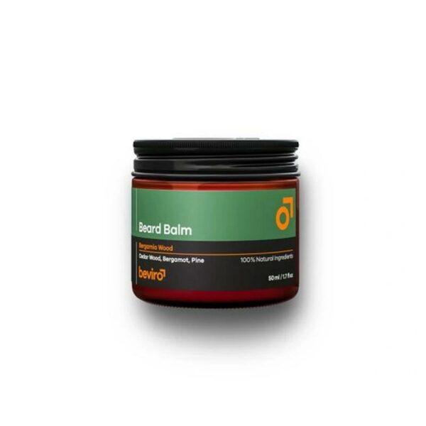 Beviro szakállbalzsam Bergamia Wood 50 ml