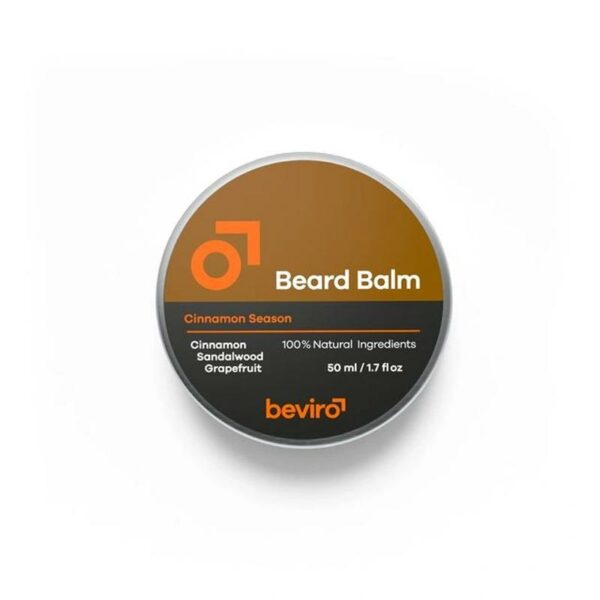 Beviro szakállbalzsam Cinnamon Season 50 ml