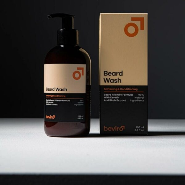 Beviro természetes szakállsampon 250 ml