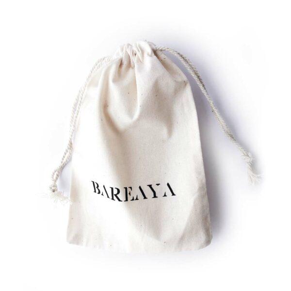 Bareaya borotvatároló tasak organikus pamutból