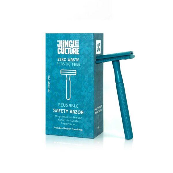 Jungle Culture biztonsági borotva - metál szürke